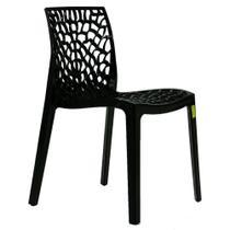 Cadeira Byartdesign Gruvyer Preto -