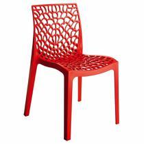 Cadeira Byartdesign Gruvyer Vermelho -