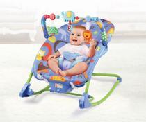 Cadeira Cadeirinha Bebê Descanso Vibratória Musical Até 18kg - Baby Style