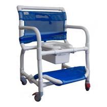 Cadeira Carcilife Higiênica com Braços Escamoteáveis Obeso -