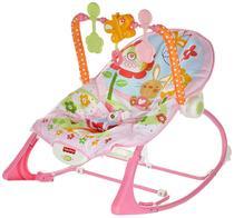 Cadeira Crescendo Comigo Meninas Fisher Price Mattel Rosa -