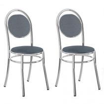 Cadeira Cromada 190 02 Unidades - Carraro - Carraro móveis