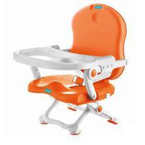 Cadeira de Alimentação Laranja e Branco - Bebeliê -