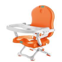 Cadeira de Alimentação Pocket Branco e Laranja - Bebeliê -