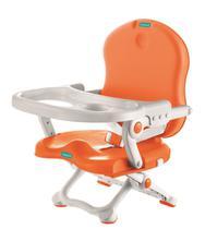 Cadeira De Alimentação Pocket Branco Laranja Bebeliê Cap-02 -