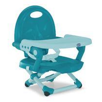 Cadeira de alimentação Pocket Snack Chicco Hydra - Azul -