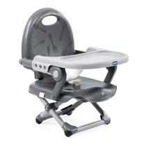 Cadeira de Alimentação - Pocket Snack - Dark Grey - Chicco -