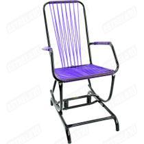 Cadeira De Área Com Balanço Infantil Roxa 14 Bel Star -