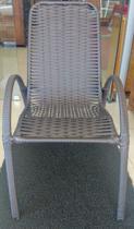 Cadeira De Área Fibra De Junco Varanda Piscina Externa - Gil Móveis