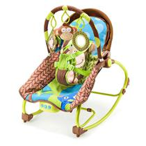 Cadeira de Balan&ccedilo Para Bebes Macaco Multikids Baby - BB365 -