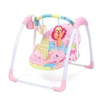 Cadeira de Balanço Automática Com Timer Rosa Leão - Mastela -