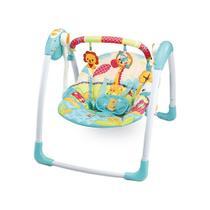 Cadeira de Balanço Automática Com Timer Verde Girafa - Mastela -