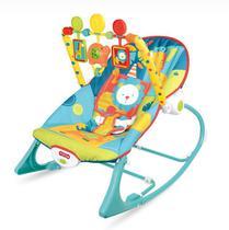 Cadeira de Balanço e Descanso Vibratória para Bebê Musical com Vibração e Som Importway BW094 AZUL -