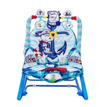 Cadeira De Balanço Infantil Pura Diversão Snoopy Azul -