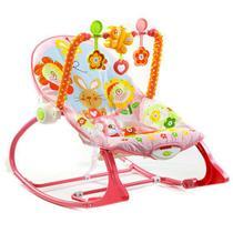 Cadeira de Balanço Vibratória Rosa Meninas até 18kg Fisher Price - Y4544 -