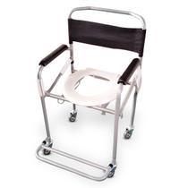 Cadeira de Banho Higiênica Dobrável Reforçada Dellamed -