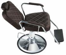 Cadeira de barbearia - Texas Dompel - Tabaco Croco -