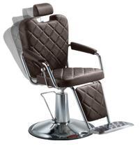 Cadeira de barbearia - Texas Wood Dompel - Tabaco -