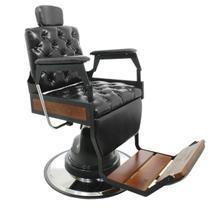 1f7a59bdd4 Cadeira de Barbeiro Reclinável Capitone Hawk - Tera móveis