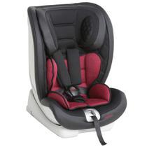 Cadeira de Bebê para Auto Isofix Reclinável De 9 a 36Kg Techno Fix Black Red - Galzerano