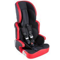 Cadeira de Carro Protek de 9 a 36 Kg Preto - Vermelho -