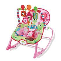 Cadeira de Descanço Vibratória até 18 Kilos - Rosa - Star Baby -