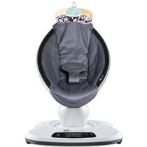 Cadeira De Descanso 4moms Mamaroo 4.0 Grey Mesh Cinza Escuro Prata -
