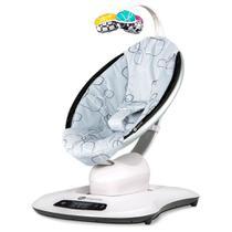 Cadeira De Descanso 4moms Mamaroo 4.0 Silver Plush Cinza -