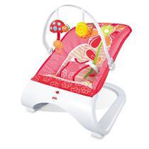 Cadeira de Descanso Bebe Acolchoado com Vibração e Som Base Curva Importway -