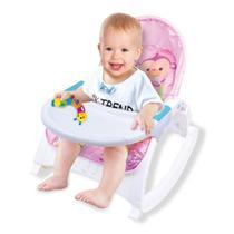 Cadeira de Descanso Bebê Alimentação Repouseira Baby Style Little - Rosa -