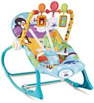 Cadeira de Descanso Bebê Azul Pinguim 18 Kg Star Baby -