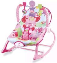 Cadeira de Descanso Bebê Musical Vibratória Elefante Baby Style -