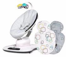 Cadeira de Descanso MAMAROO 4.0 Classic Grey + Almofada RN 4Moms -