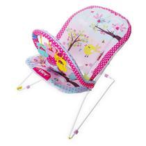 Cadeira De Descanso Musical Até 11Kgs Fun Rosa Protek Baby -