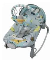 Cadeira De Descanso Musical e Vibratória 20kl Passeio Espacial 3677 - Dican -