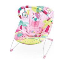 Cadeira de descanso musical elefante / pink mastela -