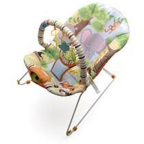 Cadeira de Descanso Vibratória e Musical Protek - Floresta -