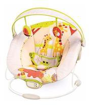 Cadeira de Descanso Vibratória Musical Safari Até 11kg - 6418 - Mastela -