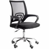 Cadeira de Escritório com Base Cromada - 9050 - Prizi