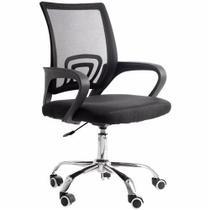 Cadeira De Escritorio Com Base Cromada Prizi - 9055 -
