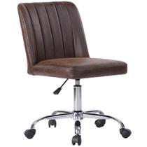 Cadeira de Escritório Deco Maker Marrom Just Home Collection -