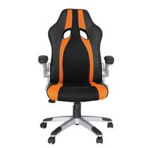 Cadeira de Escritório Office Speed Rivatti Preto/Laranja -