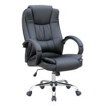 Cadeira de escritório Presidente Mb-C730 Travel Max Preta -