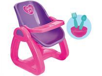 Cadeira de Papinha para Boneca Usual Brinquedos - Baby Love