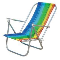 Cadeira de praia dobrável em 2 posições - Botafogo