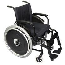 Cadeira de Rodas AVD Alumínio Pés Fixos Ortobras -