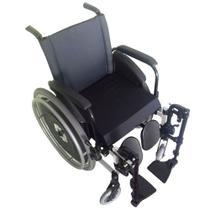 Cadeira de Rodas AVD Alumínio x Duplo Pés Eleváveis Ortobras -
