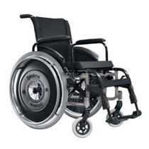 Cadeira de Rodas AVD - Ortobrás - Prata -