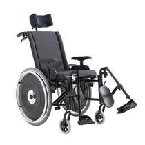Cadeira de rodas avd reclinável alumínio assento 38 ao 50 cm - ortobras -