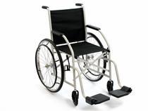 Cadeira De Rodas Cds 101 Cinza Rodas de Raida Com Pneus Maciços -
